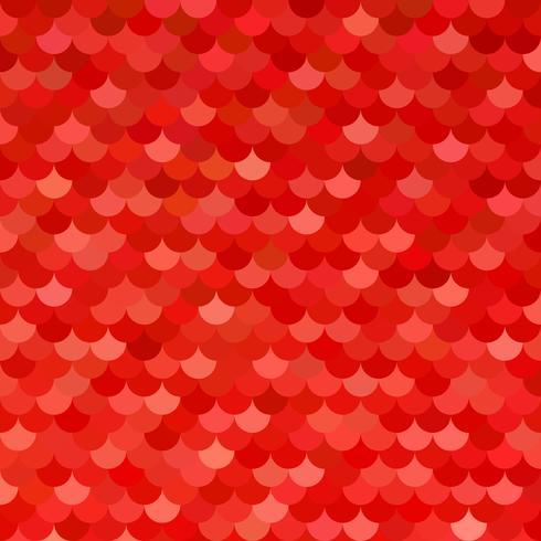 Padrão de telhas vermelhas, modelos de Design criativo vetor