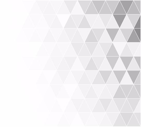 Grade cinza branco mosaico fundo, modelos de Design criativo vetor