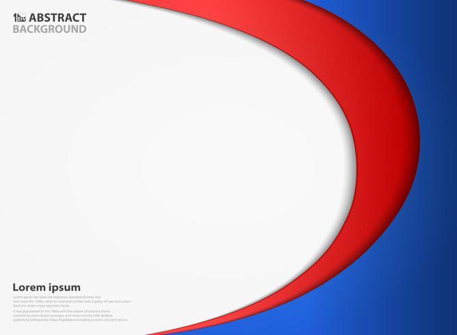 Fundo abstrato do vetor da cor do projeto do corte do papel da dimensão. Você pode usar para anúncio, pôster, apresentação, trabalho artístico.