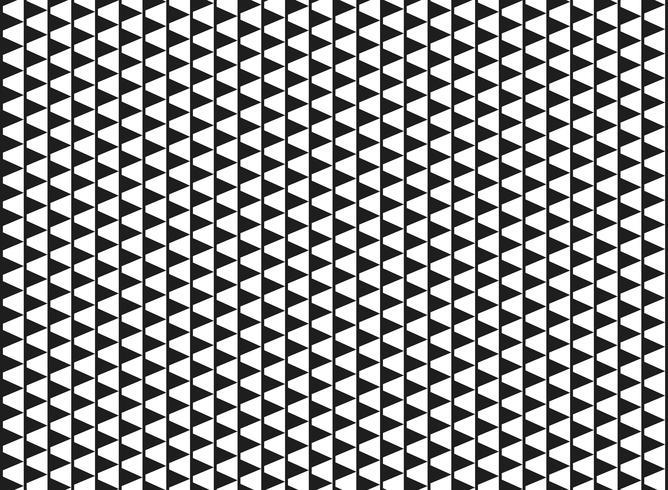 Cor preto e branco abstrata do fundo geométrico do teste padrão do cubo da dimensão. Você pode usar para design moderno sem emenda de impressão, arte, capa. vetor
