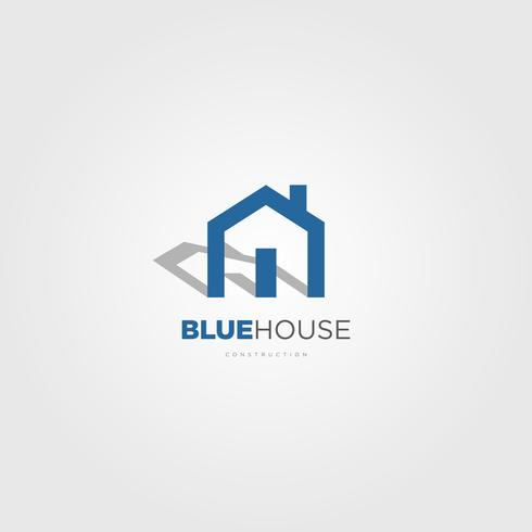 Propriedade simples casa logotipo sinal símbolo ícone vetor
