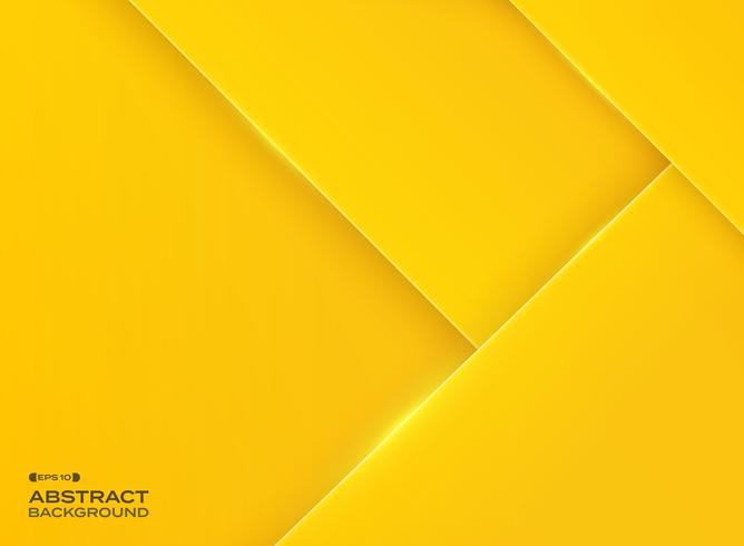 Resumo de gradiente fundo amarelo com glitter. vetor