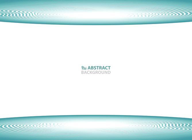 Projeto ondulado azul abstrato para o fundo da apresentação da tampa. ilustração vetorial eps10 vetor