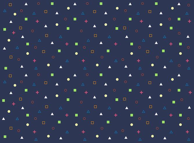 Resumo padrão colorido de fundo geométrico. vetor