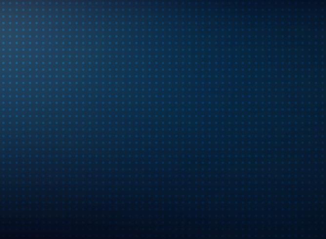 Azul abstrato do inclinação da tecnologia de futurista com fundo do teste padrão de ponto. vetor