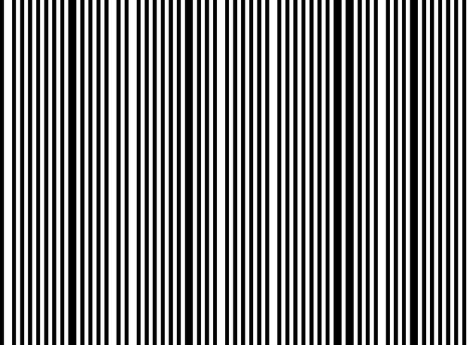 Linha aleatória preto e branco abstrata fundo do teste padrão da listra do teste padrão. ilustração vetorial eps10 vetor