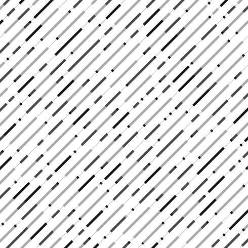 Linha listra preta sem emenda abstrata fundo do teste padrão. vetor
