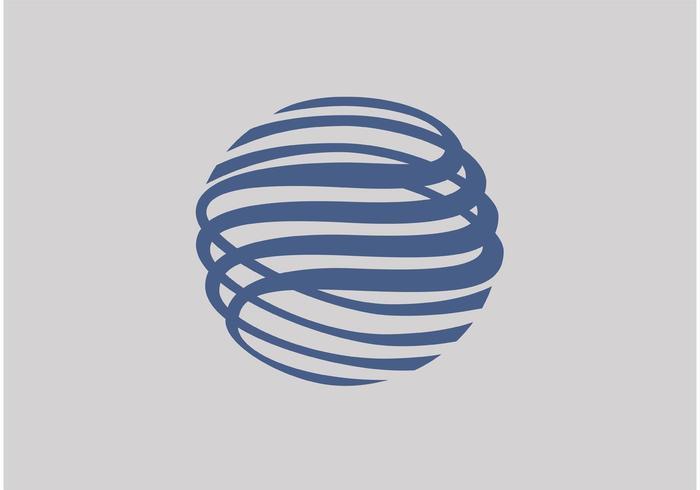 Disco do logotipo de Gazprombank vetor