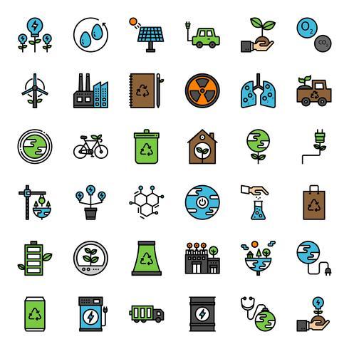 ícone do ambiente de inovação vetor