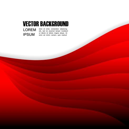 fundo vermelho abstrato vetor