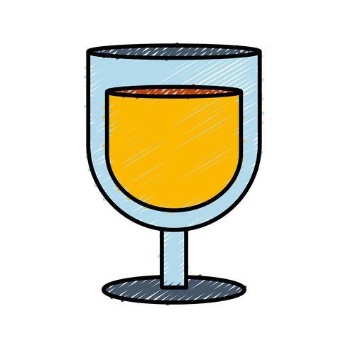 ícone de copo de bebida vetor