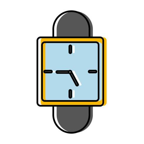 assista a imagem do ícone vetor