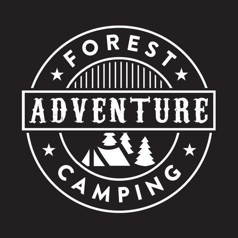Aventura Logo and Badge, bom para impressão vetor