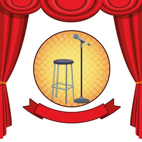 Show e teatro vetor