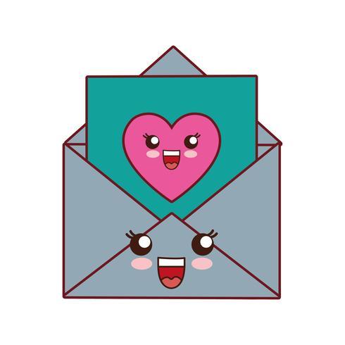 imagem de ícone de envelope vetor