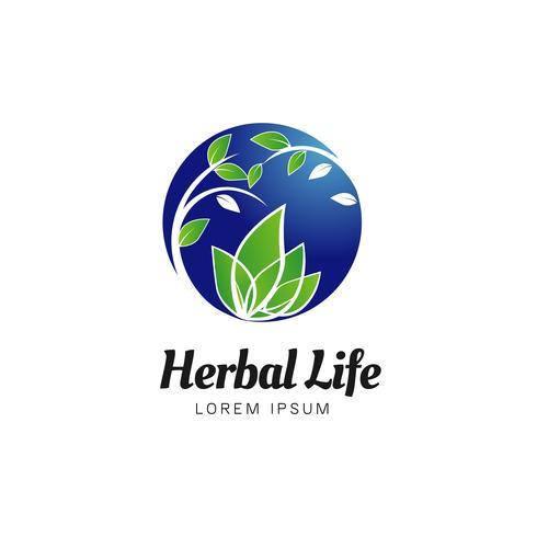 Logotipo da Herbal Life vetor