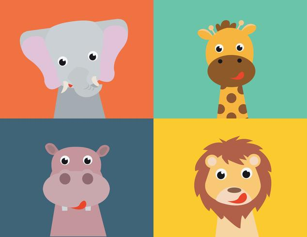 coleção de vetores de animais
