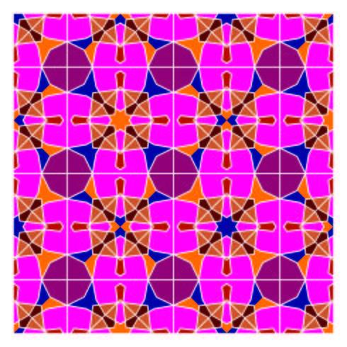 Padrão sem emenda geométrico vetor