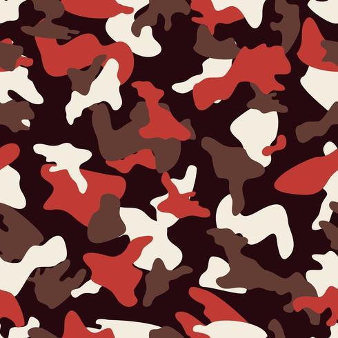 Padrão de cor perfeita de camuflagem tan vetor