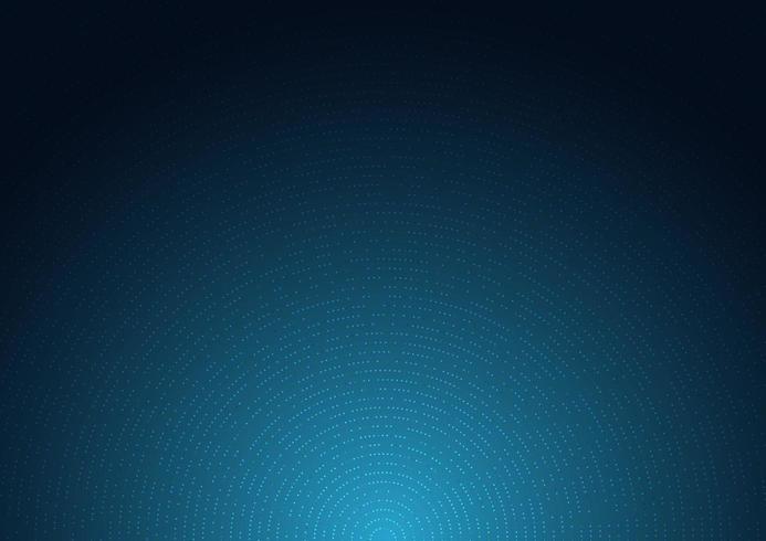 fundo azul escuro com efeito de luz e brilho radial vetor