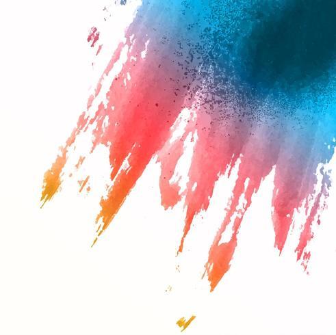 Fundo splat aquarela vetor
