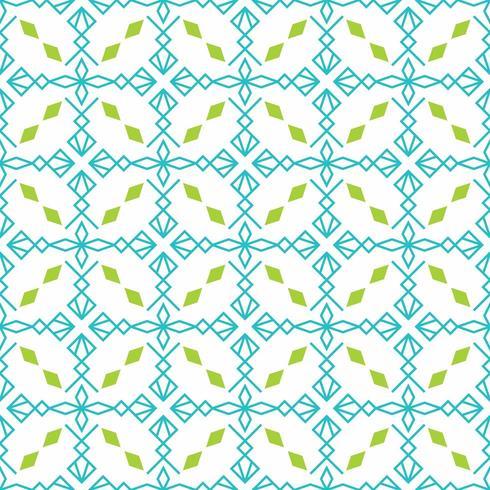 padrão sem emenda com x forma e diamantes vetor