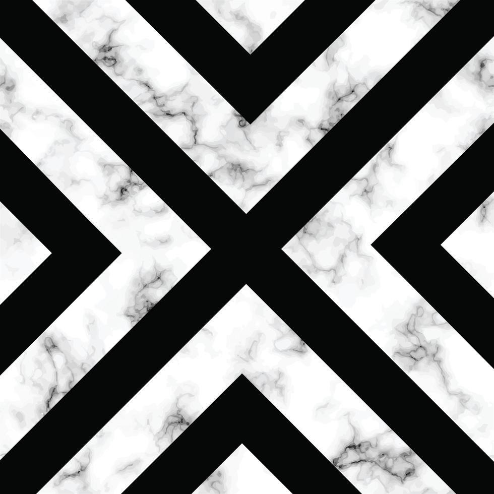 design de textura de mármore com design geométrico x vetor