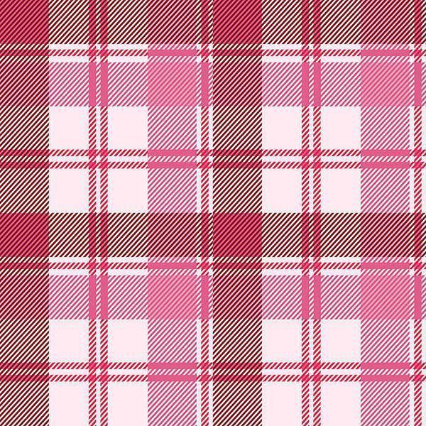 padrão xadrez sem costura em rosa pastel vetor