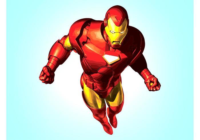 Homem de Ferro vetor