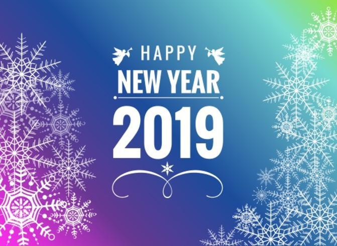 Livre ano novo feliz vetor