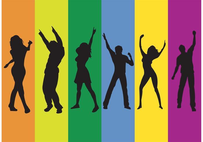Clube do arco-íris vetor