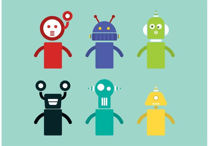 Vetores de robô