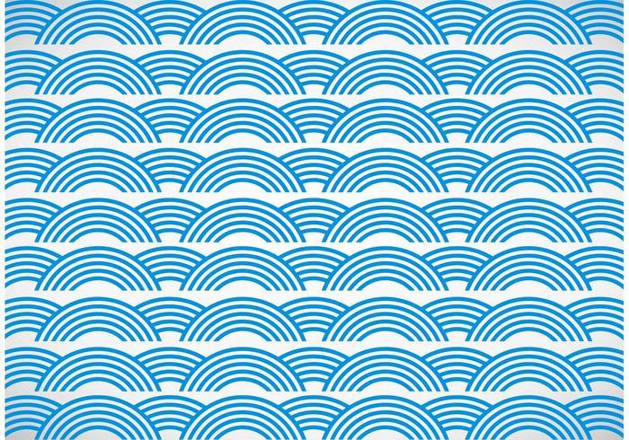 Fundo do vetor das ondas