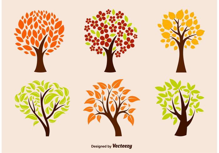 Vetores da árvore Eco