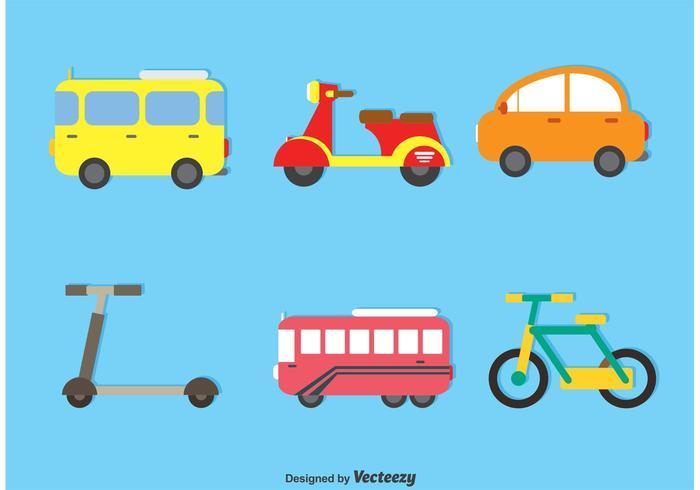 Conjunto de vetores de transporte