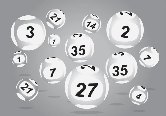 Vetores de bolas Lotto