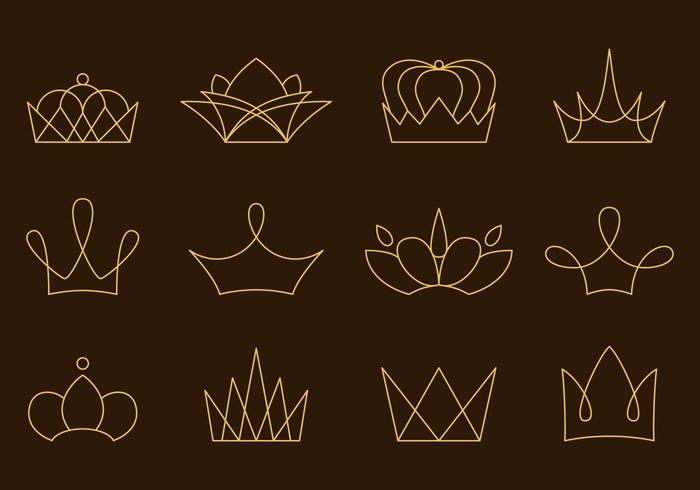 Vetores Lineares da Coroa de Ouro
