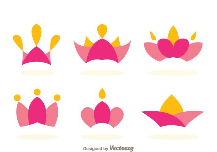 Princesa Crown Logo Vectors