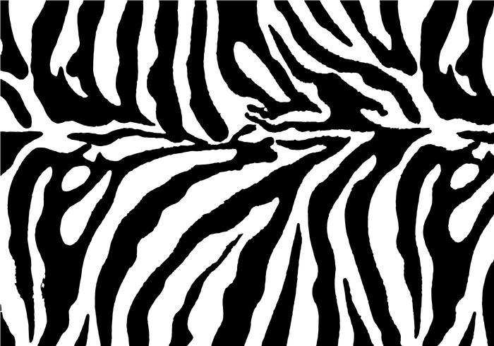 Vetor de fundo de impressão zebra grátis