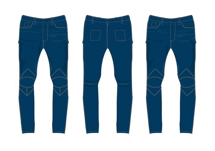 Vetor de Calças Jeans Grátis