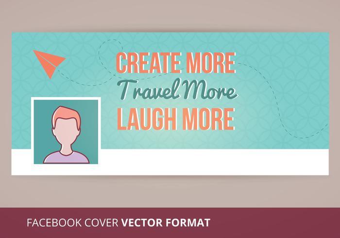 Vector de capa do Facebook