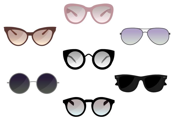 Vector de óculos de sol gratuito
