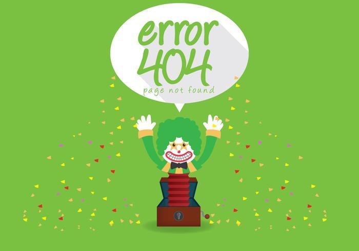 Vector de erro 404