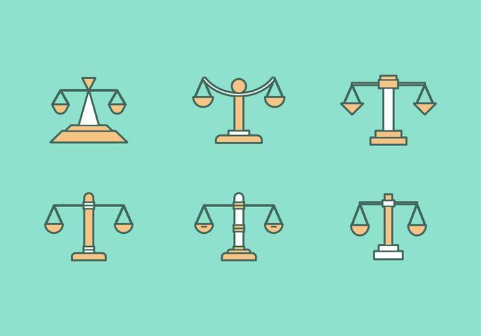 Ícones de vetores de escritório de direito gratuito # 3