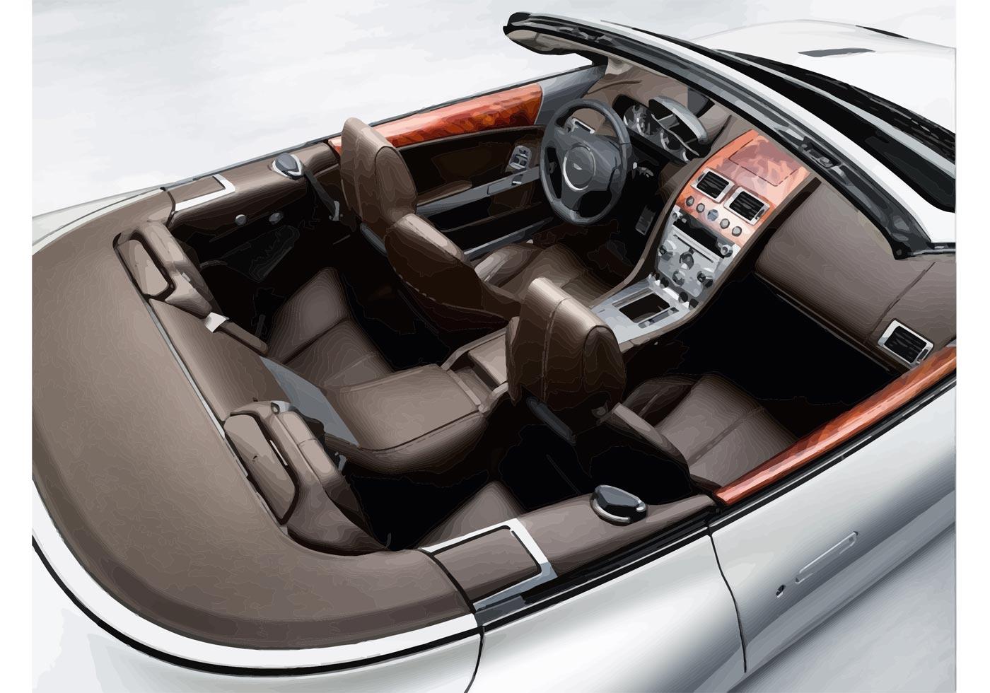 Aston Martin Db9 Interior Download Vetores Gratis Desenhos De Vetor Modelos E Clipart