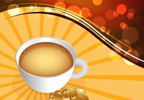 Vetor de chá de gengibre