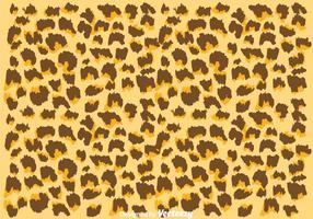 Padrão Leopardo de Cor Natural vetor