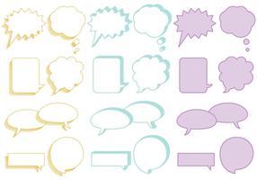 Bolhas de Texto Encaminhado