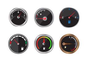 Vetor de indicador de combustível livre