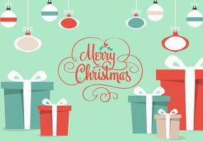 Vector de presentes de Natal grátis